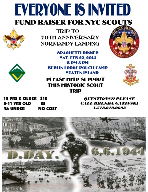 FUND RAISER NORMANDY