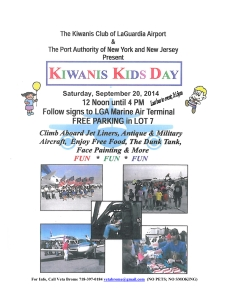 2014 LGA Kids Day Flyer-2