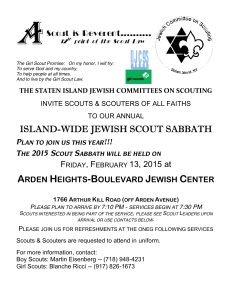 2015.2.13.Scout Sabbath