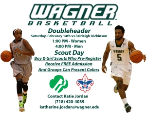 Double Header Scout Day Flyer Promo(1)